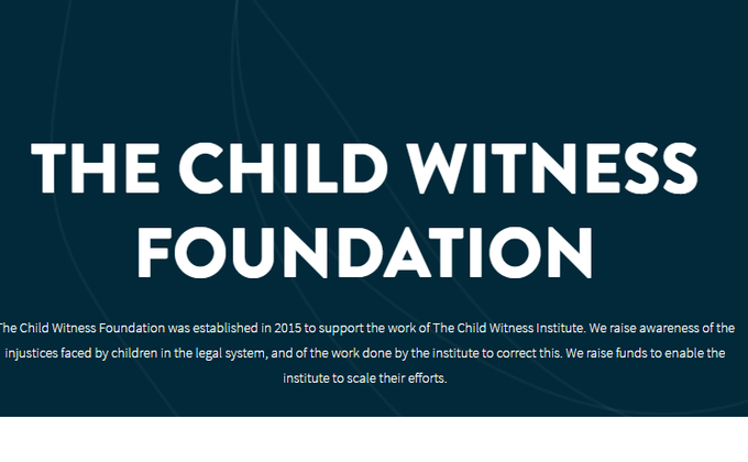 Child witness institute cover