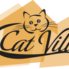 Cat village logo
